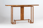 """""""The Ozzie"""" handmade hall table made of Queensland (Australia) Maple."""