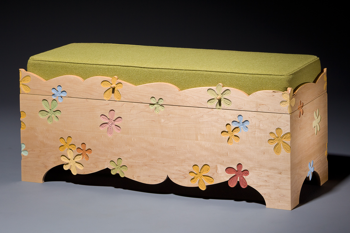 Flower Power Redux Blanket Chest