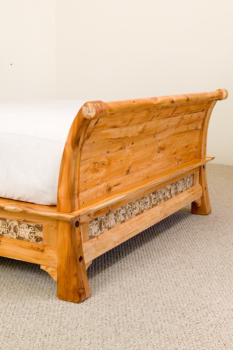 Sleigh Bed (detail)